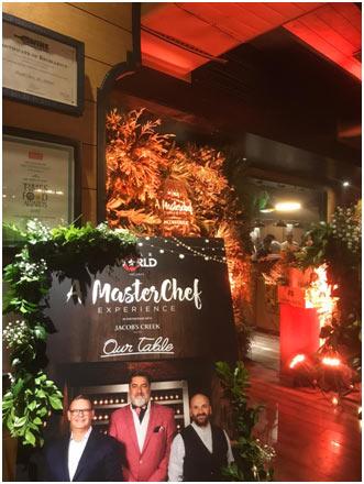 IIEM students organized Masterchef Australia Dinner in New Delhi