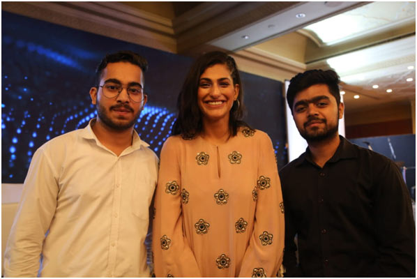 IIEM students assisted for OutLook SpeakOut Event at Hotel Taj Palace