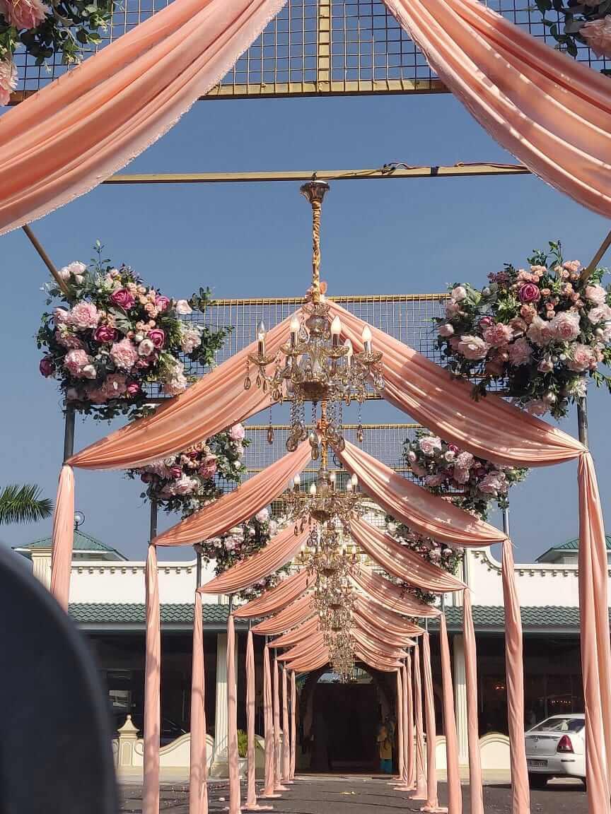 Classy Muslim Wedding Organized by IIEM student in Kerela