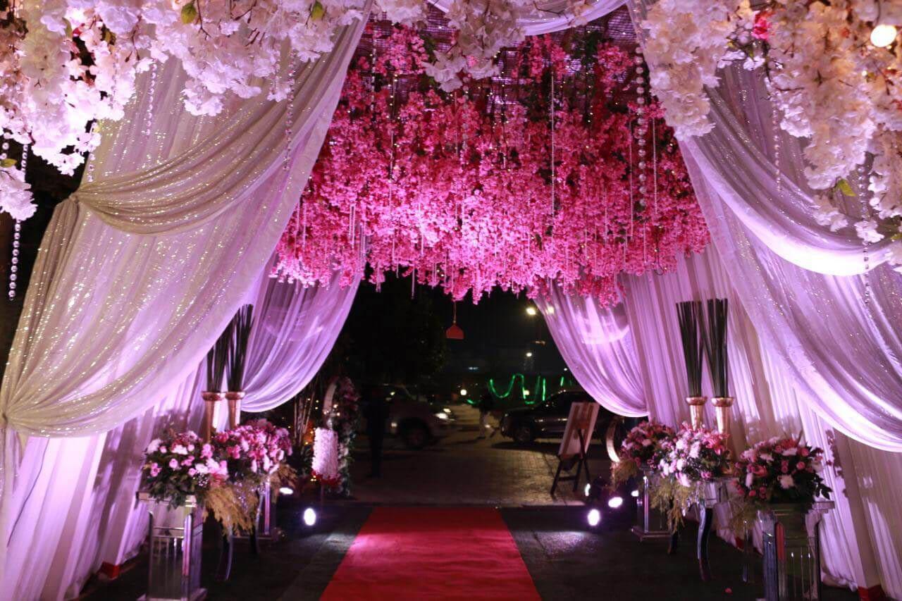 Fairytale Wedding at Ferns & Petals organized by IIEM Student in Delhi