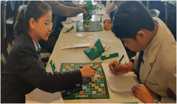 Scrabble city Championship organized at different schools in Delhi by IIEM student