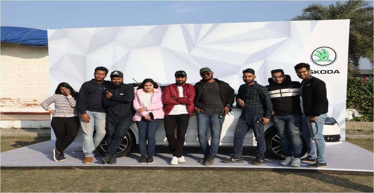 Skoda Single Wicket Cricket Tournament organized by IIEM student in Delhi