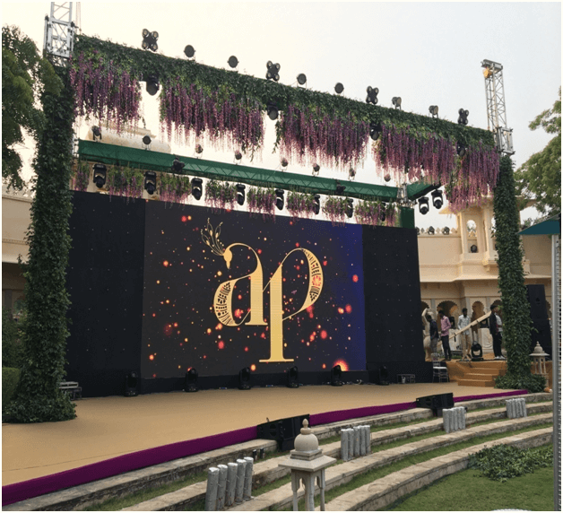 Fairytale Cocktail and Wedding ceremony organized by IIEM student in Udaipur
